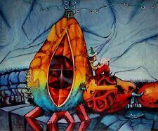 Original Art Painting Arte Cuban Santiago Cuba Artist JORGE FONT