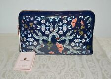 NWT $49 TED BAKER London Kyoto Gardens Washbag Makeup Cosmetic Case Karie