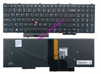 Brand New lenovo IBM Thinkpad P70 P71 series laptop US keyboard backlit black