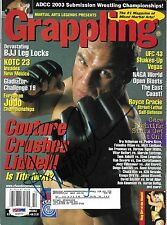 Randy Couture Signed October 2003 Grappling Magazine PSA/DNA COA UFC Autograph