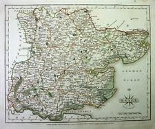 Antique map, Essex …