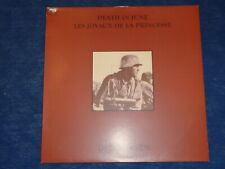 DEATH IN JUNE / LES JOYAUX DE LA PRINCESSE Ostenbraun LP GOLD VINYL NEOFOLK