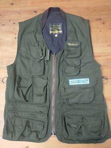 Wychwood Four Seasons XXL Green Multi Pocket Gilet Vest Fishing Jacket