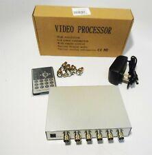 Podofo Hd Color Video 4 Channel Processor With 6 Bnc Adapters (Open Box)