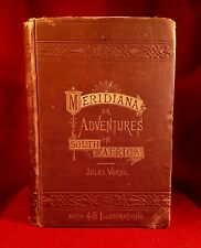 Meridiana by Jules Verne 1st  1874 Illustrated