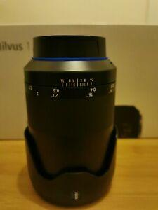 Zeiss Milvus 35mm f1.4 ZE Lens - Canon Fit