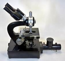 Hensoldt Wetzlar Binokular Mikroskop * dezentr. Aperturblende Köhlerbeleuchtung