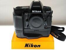 Nikon F90X +MB-10 grip+MF-25 databack. Program/auto/manual AF SLR. EXC+ cond.