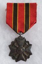 Médaille 2/3 de taille BELGIQUE SERVICE CIVIQUE POUR ACTE EXCEPTIONNEL ORIGINAL