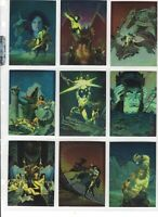 1994 Comic Images Conan Series 2 Trading Cards - All Chromium Complete Set of 90