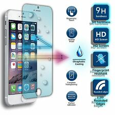 Full LCD Cover Tempered Screen Protector Laser Cut For Apple iPhone SE 2016