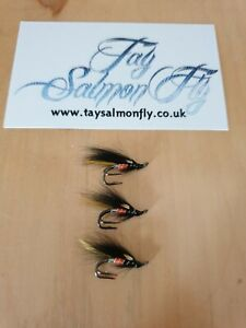 3x Executioner Salmon Flies Size 12 Double Hook NEW