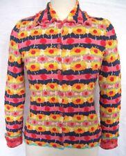 Geblümte hüftlange Damen-Pullover & -Strickware mit M