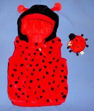 Plush Ladybug Costume Toddler 12-24 Months-1-2 yrs-BUG-Ty Beanie toy-HALLOWEEN
