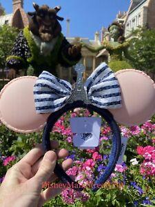 Disney Parks Epcot France Macaron Minnie Ears Eiffel Tower Macaroon