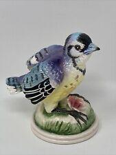 New ListingVintage Japan Lefton ? Blue Jay Bird Figurine