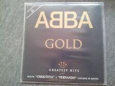 Abba - Gold 2 x Disco Vinyl LP SPAIN 2 tracks SUNG IN SPANISH
