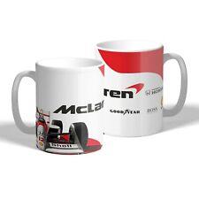 Ayrton Senna McLaren Mug Car Mechanic Tea Coffee Cup Racing F1 Gift