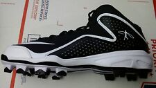 Nike Air Swingman MVP 2 Mid MCS Baseball Cleats style 616259-001 MSRP $90