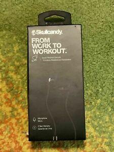 S2MEYL670 Skullcandy S2MEY-L670 In-Ear Headphones Black Water & Sweat Resistant