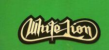 White Lion Iron On Patch! New Vito Bratta Guitar Virtuoso Van Halen Steve Vai