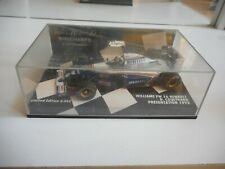 Minichamps F1 Formula 1 Williams FW 16 Renault Coulthard in Blue on 1:43 in Box