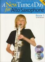 A New Tune A Day for Alto Saxophone New Tune a Day Book  CD  DVD