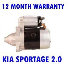 KIA SPORTAGE 2.0 1994 1995 1996 1997 1998 1999 - 2003 RMFD STARTER MOTOR