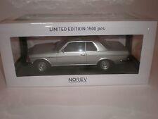 1/18 Norev 1980 Mercedes Benz 280CE Silver