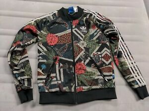 Adidas Tropical Jacket Tracksuit Women's Small X Farm Xilofloresta