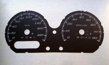 Harley Street Road Glide Touring black Tachoscheibe Gauge Speedometer Tacho dial