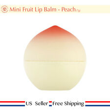 Tony moly Mini Fruit Lip Balm Peach SPF15 PA+ 7g + Free Sample [ US Seller ]