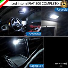 KIT FULL LED INTERNI ABITACOLO FIAT 500 CINQUECENTO RESTYLING COMPLETO CANBUS