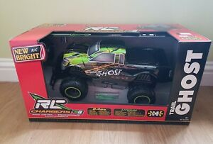 New Bright RC  Chargers Trail Ghost Black & Green Radio Control Truck
