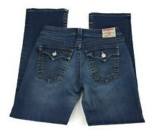 True Religion Becky Low Rise Bootcut Stretch Flap Pocket Jeans USA Women's 29x29