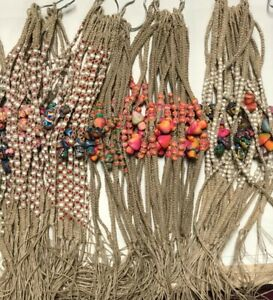Hemp Mushroom Polymer Clay Pendant Puka Shell Necklace Handmade 50 PCS Wholesale