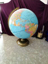 IMPERIAL GLOBE BY THE GEORGE F CRAM COMPANY'S 1970'S 12 INCH