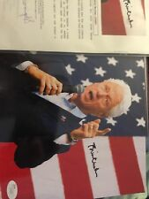 President Bill Clinton Signed 8x10 Photo - JSA COA LOA 42nd President