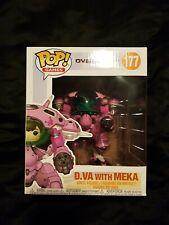 "Funko Overwatch - D.Va with MEKA (Carbon Fibre) 6"" Pop Vinyl Figure"