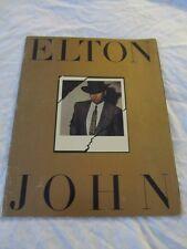ELTON JOHN 1984 Breaking Hearts Concert Tour Program Book!!!