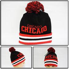 chocago fold up chic pom pom beanie ski snowboard Men Women Knit top best Hats
