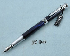 Picasso 903 Swiss Flower Dark Blue Fountain Pen Without Box