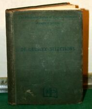 Vintage Book - Joan of Arc & Other Selections - Thomas De Quincey - Sibley 1892