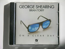 George Shearing Brian Torff On a clear day CD jazz