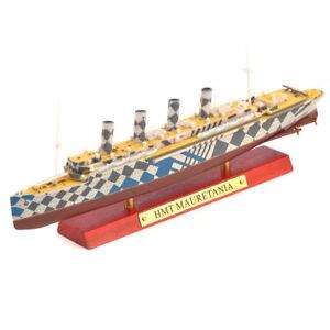 1/1250 HMT MAURETANIA Cruise Ship Toys Diecast boat Model Ornament