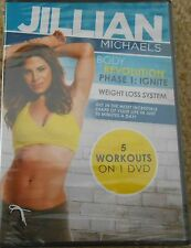 Jillian Michaels Body Revolution Phase 1 Ignite 5 Workouts New DVD Fitness