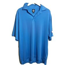 FootJoy Titleist Golf Polo Large bright blue
