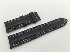 Brand New Jaeger Le Coultre Dark Brown band strap Genuine Alligator XS 18mm