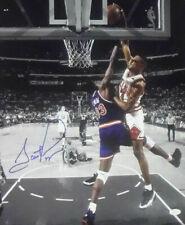 Scottie Pippen Autographed/Signed Chicago Bulls 16X20 Photo JSA 20881