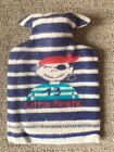 David Fussenegger Kids Hot Water Bottle. New With Tags. Red/White/Blue Pirate.